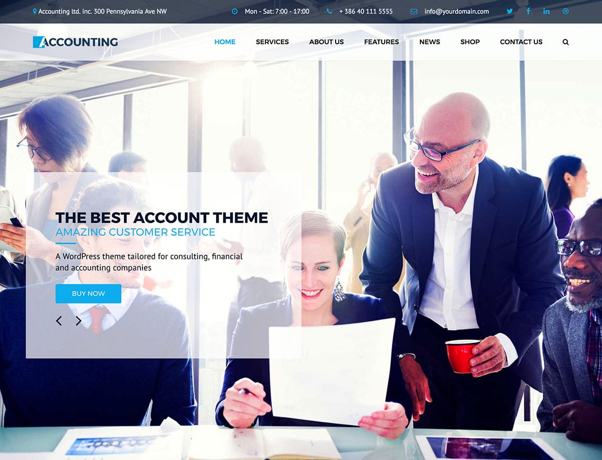 25 Best Consulting Wordpress Themes 2021 Athemes