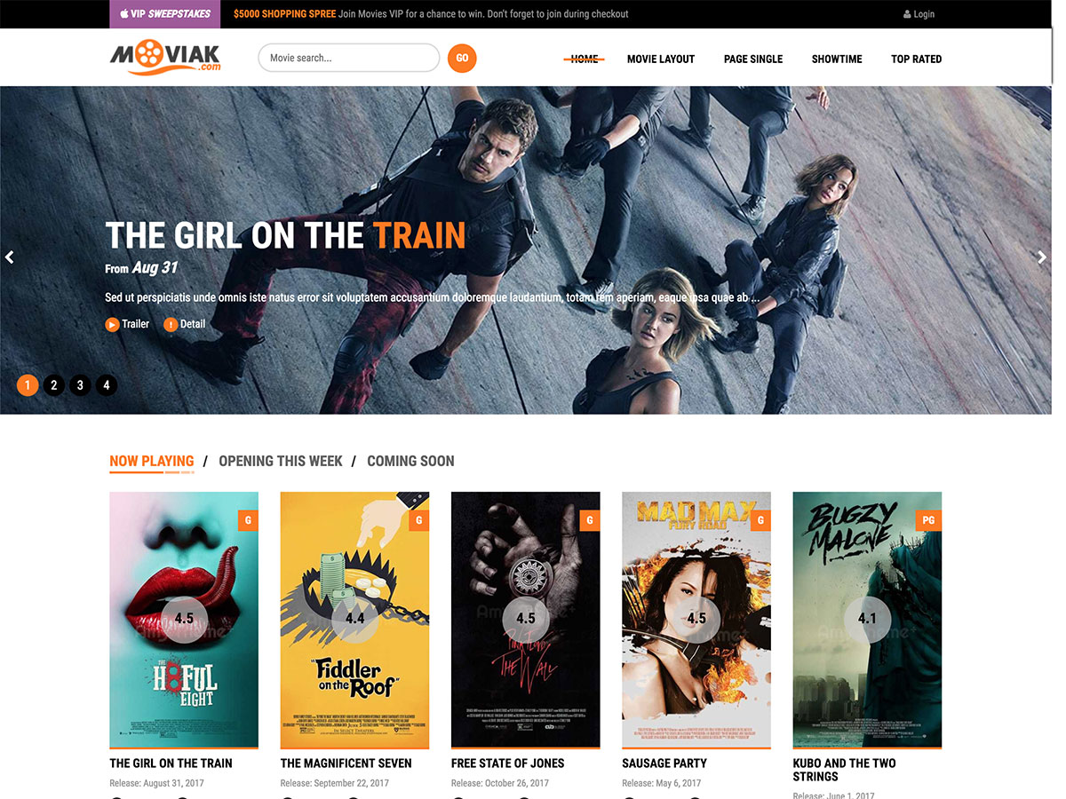 5 Best Wordpress Movie Themes 2021 Athemes
