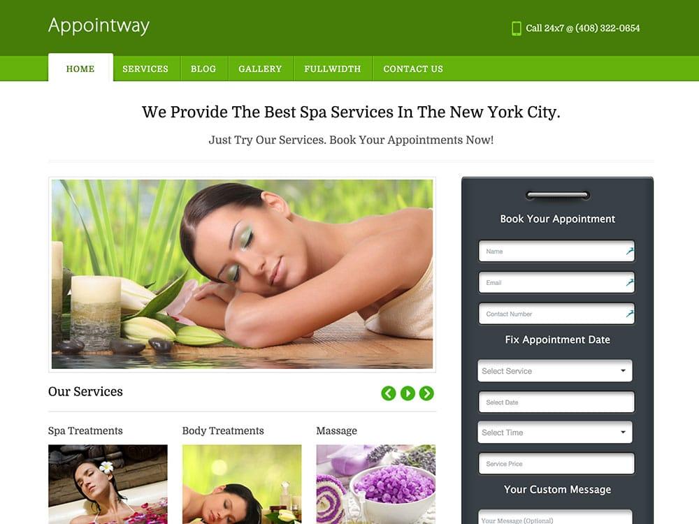 Appointway-wordpress-booking-theme
