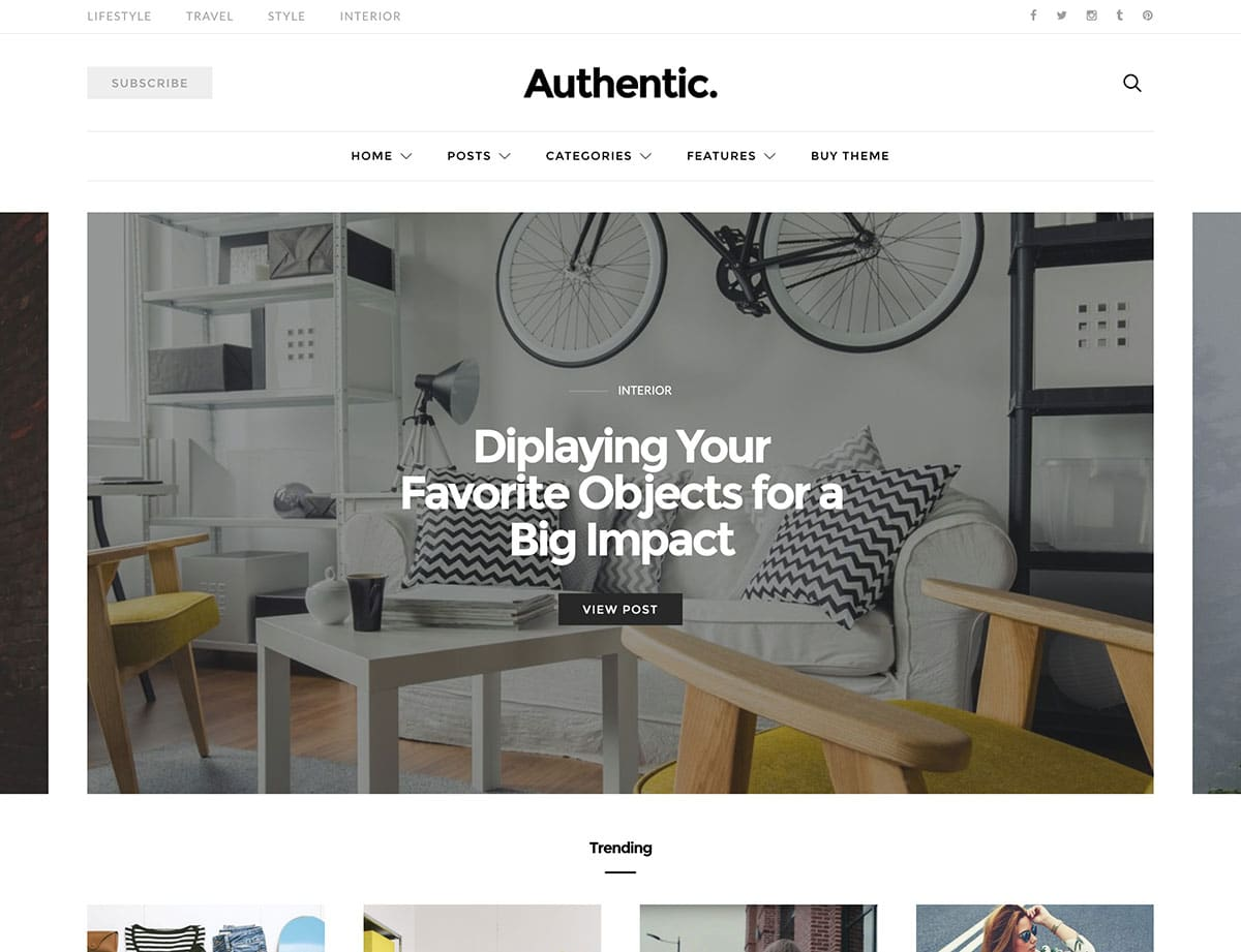 authentic-minimalistic-wordpress-theme