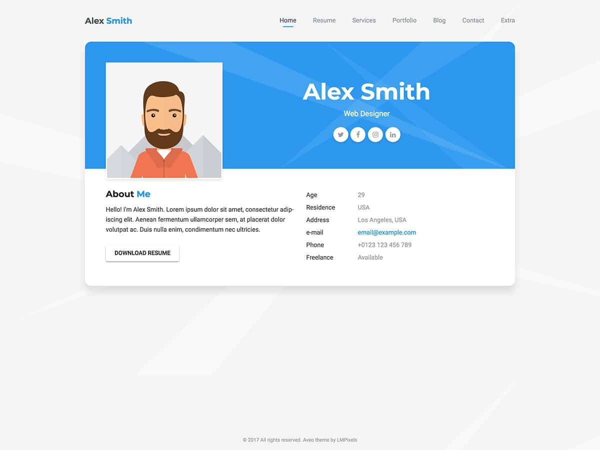 20 Best Wordpress Resume Themes 2021 Athemes