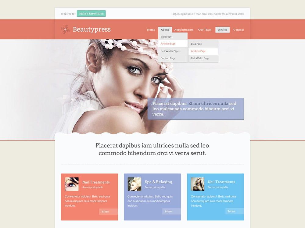 Beautypress-theme