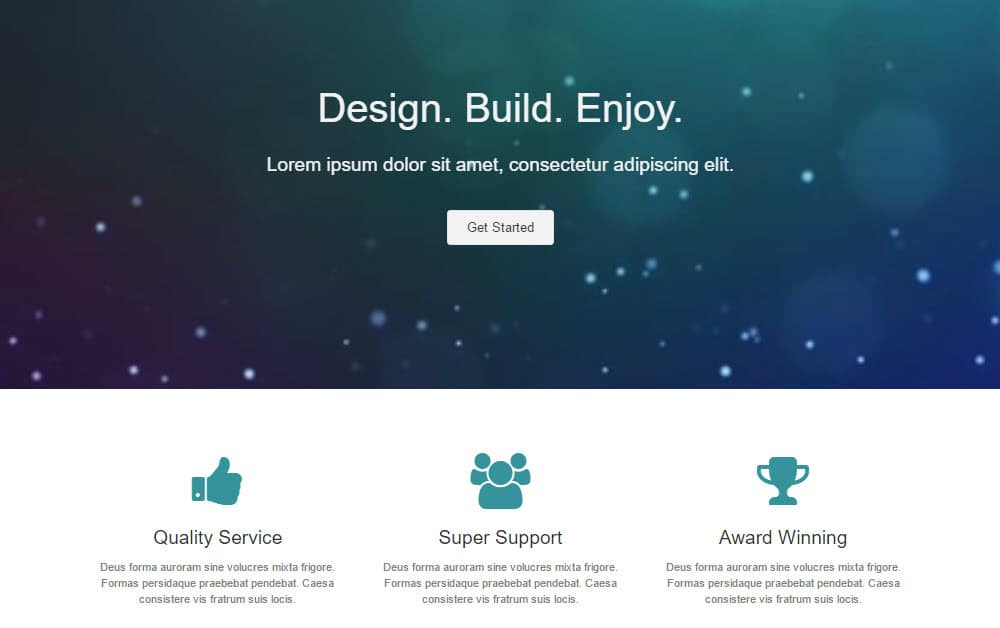 Beaver Builder homepage templates