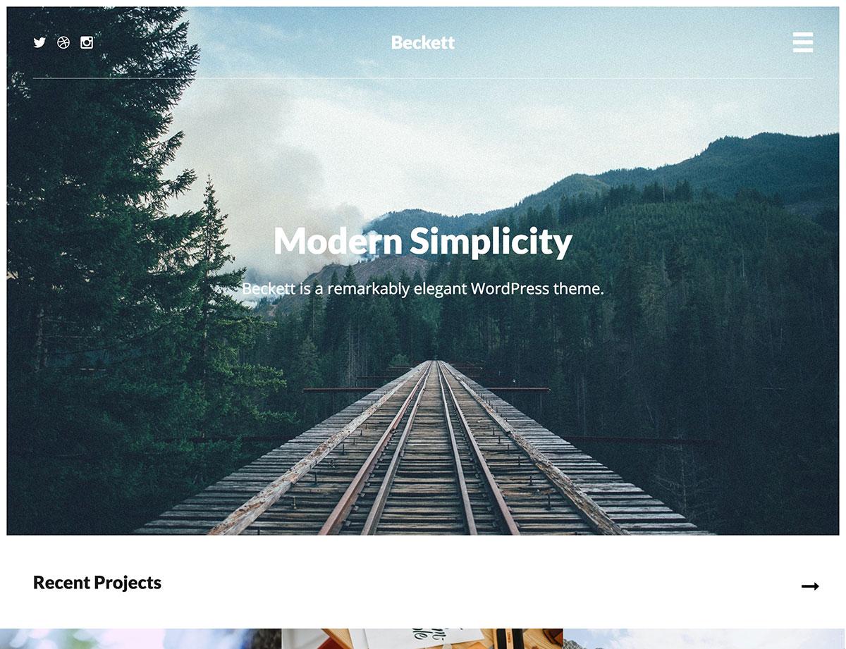 beckett-wordpress-theme