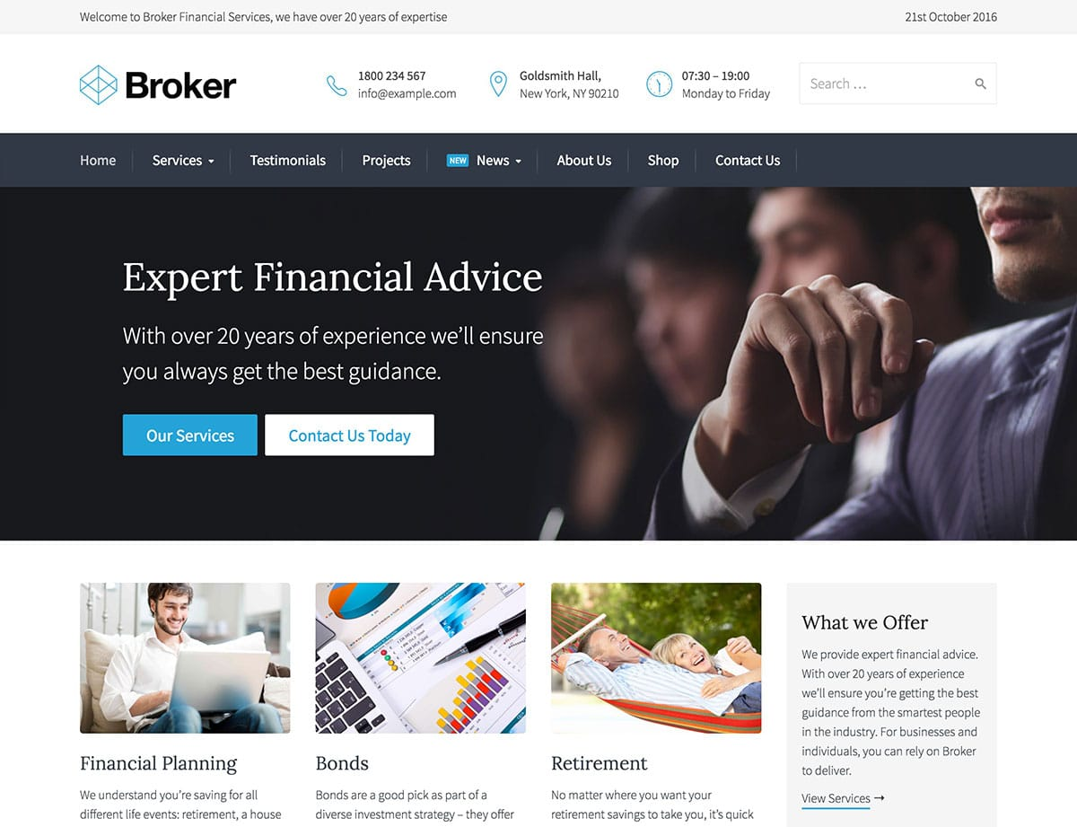 broker-finance-wordpress-theme