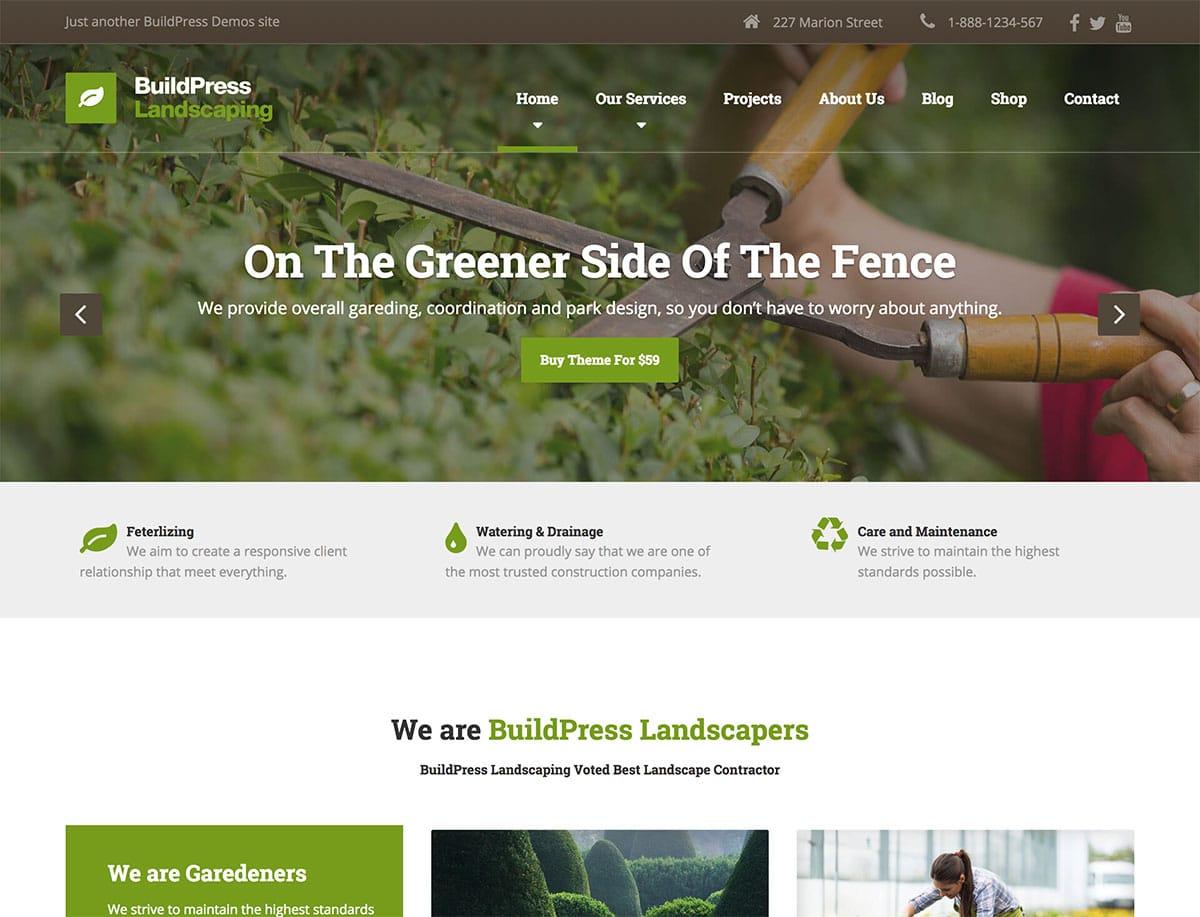 15 Best Gardening Landscaping WordPress Themes 2021 Athemes