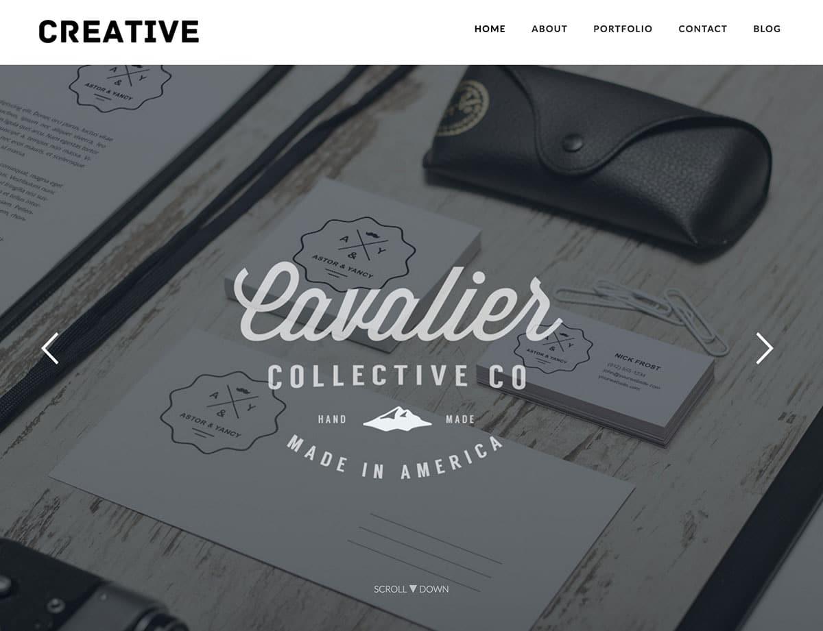 creative-portfolio-free-theme