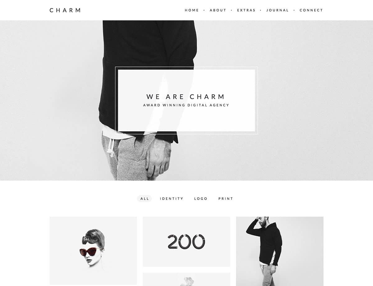charm-minimalist-portfolio-for-freelancers-agencies