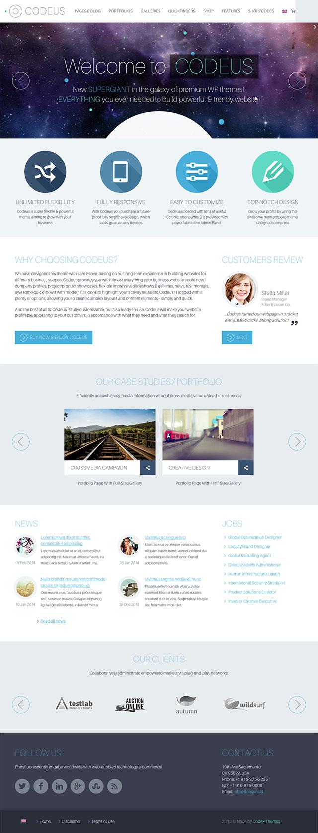 Impressive Wordpress Theme Impressive Wordpress Theme