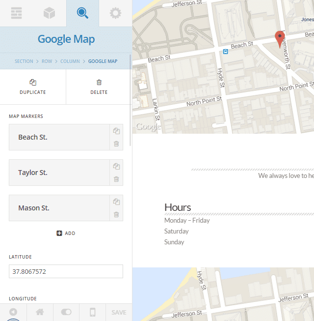 Cornerstone Inspector Google Map