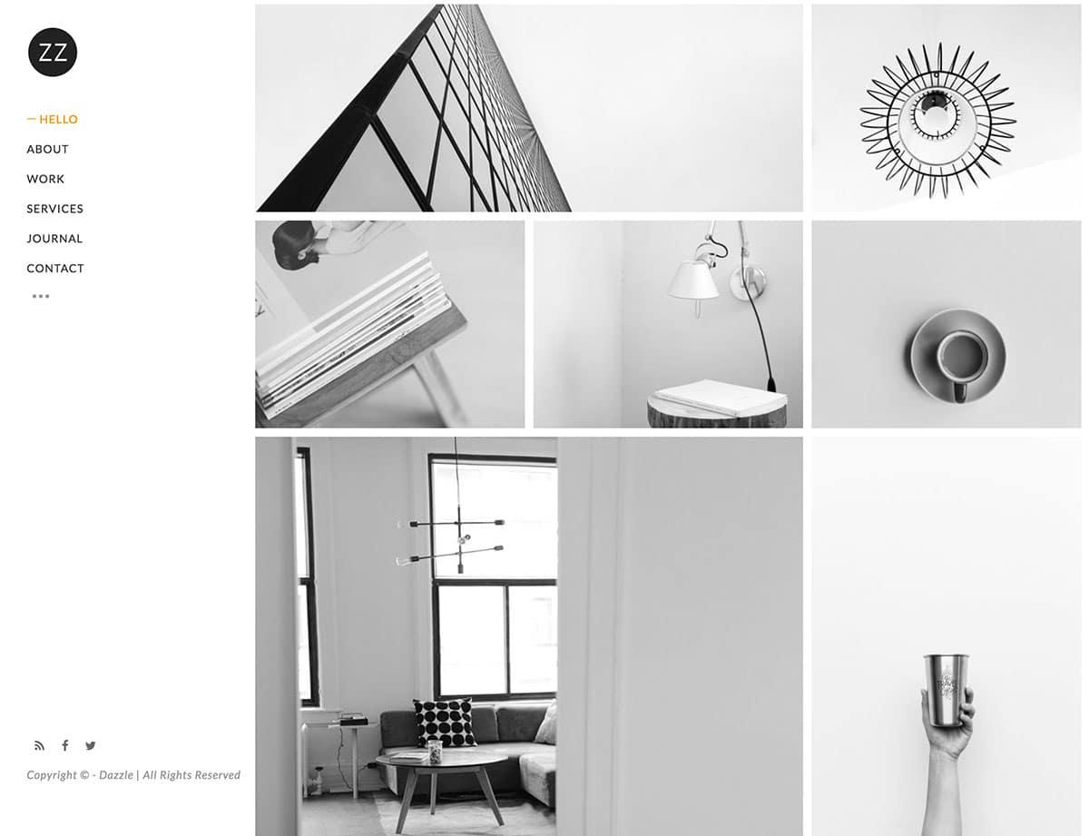dazzle-portfolio-theme