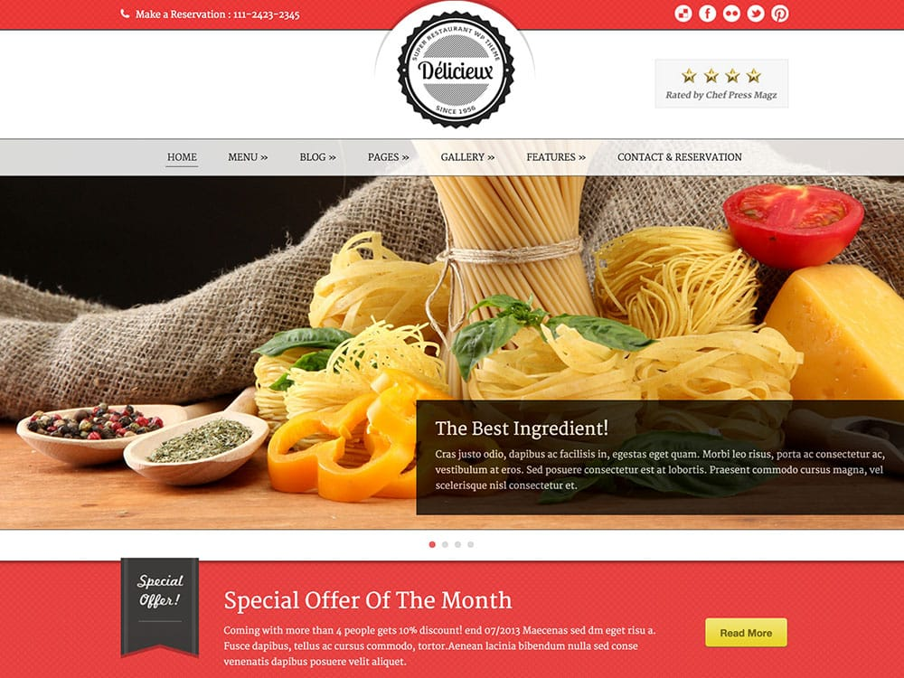 Delicieux-restaurant-wordpress-theme