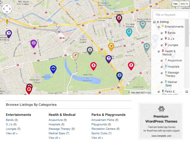 Directory-Homepage-Map