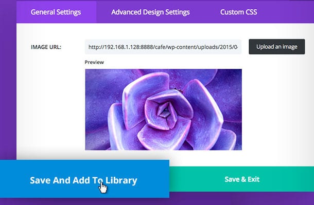 Divi 2.4 Library