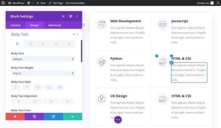 Divi Page Builder Module