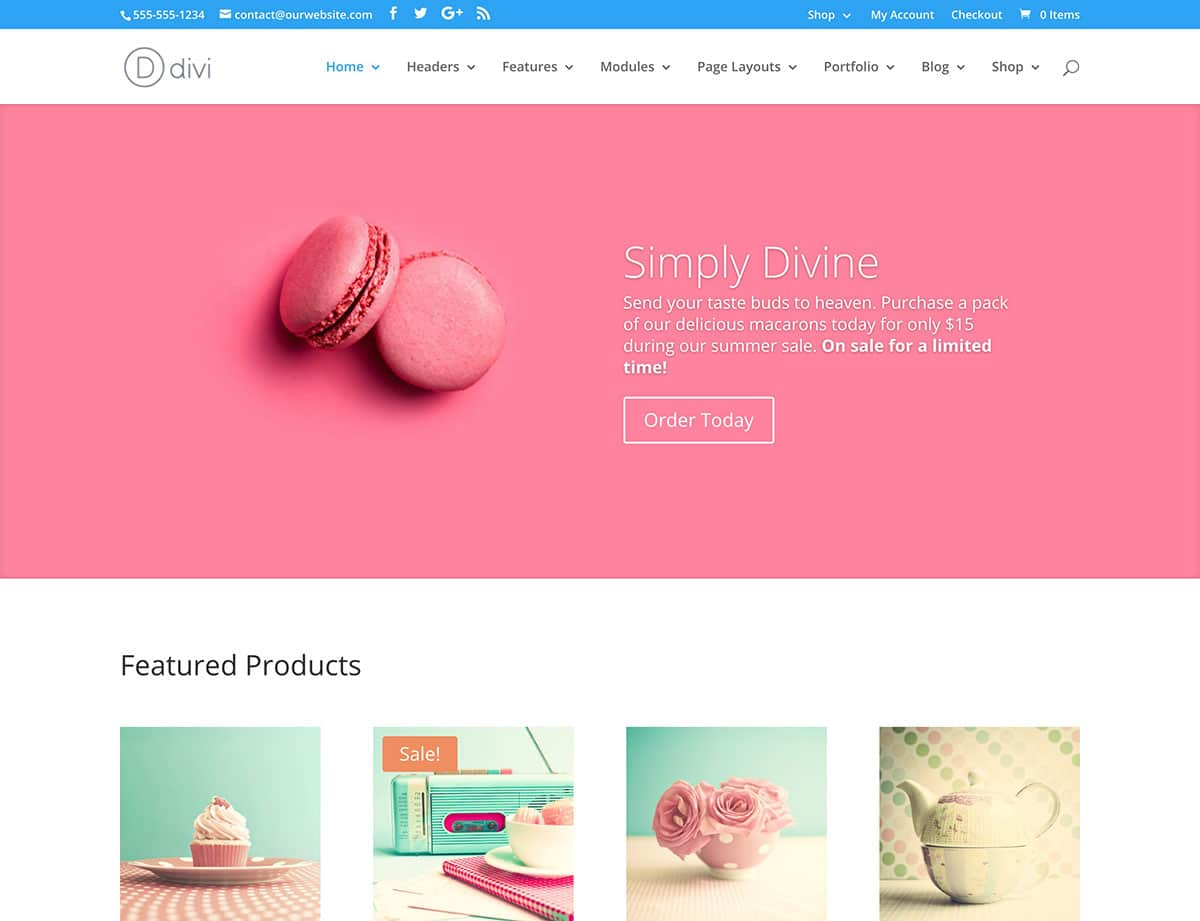 Divi-shop-theme