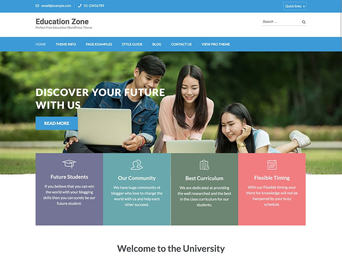 15 Best Free Wordpress Education Themes 2021 Athemes