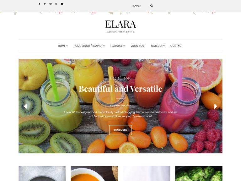 The Elara theme.