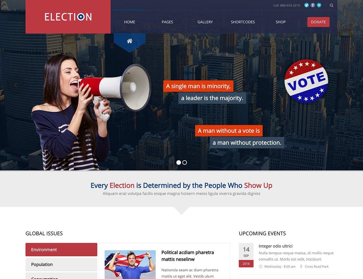 election-political-wordpress-theme