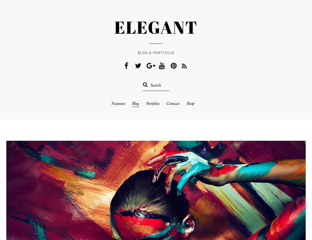elegant-wordpress-theme