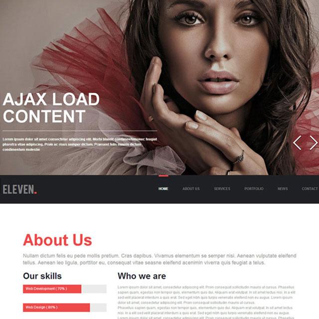 Eleven-WordPress-Theme
