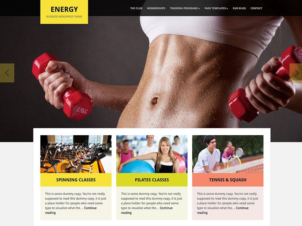 Energy-WordPress-Theme