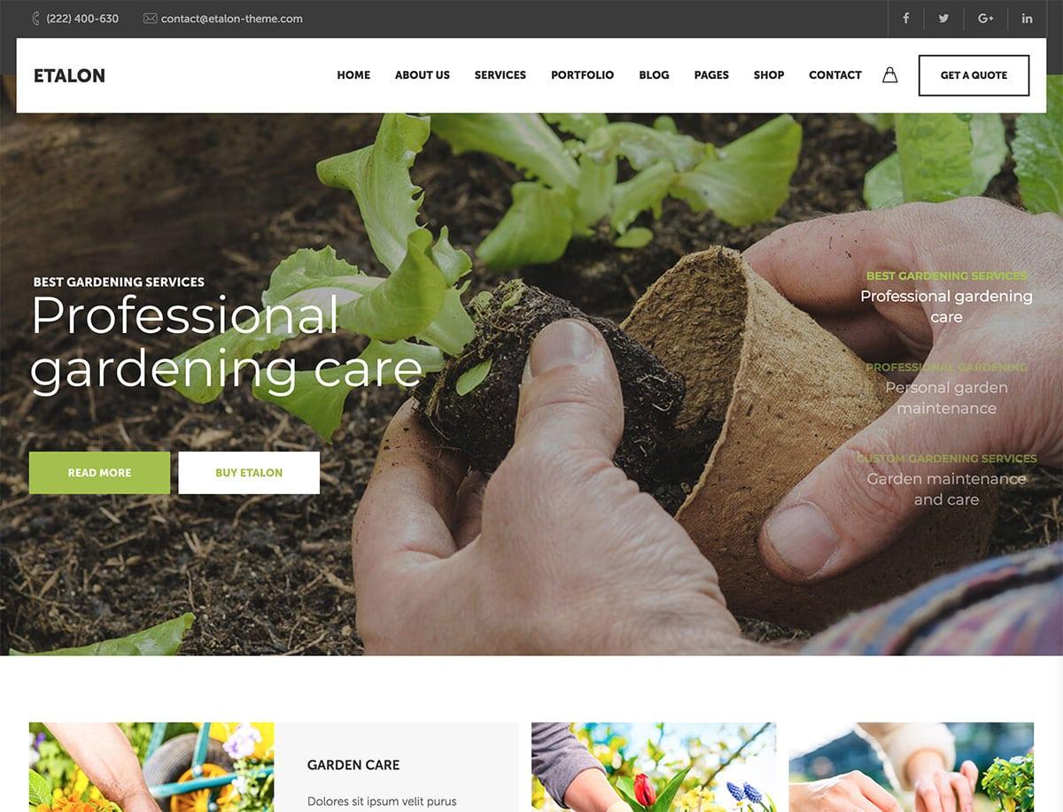 Landscaping WordPress Themes