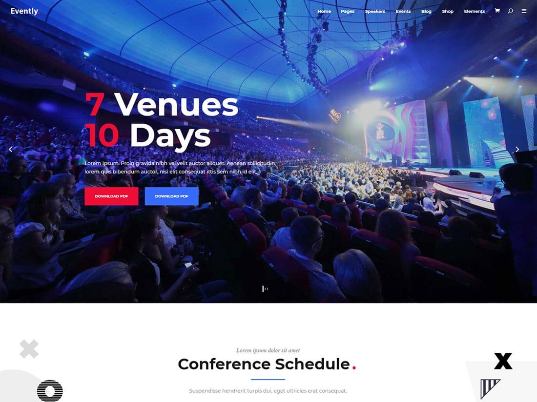 25 Best Events Wordpress Themes 2021 Athemes