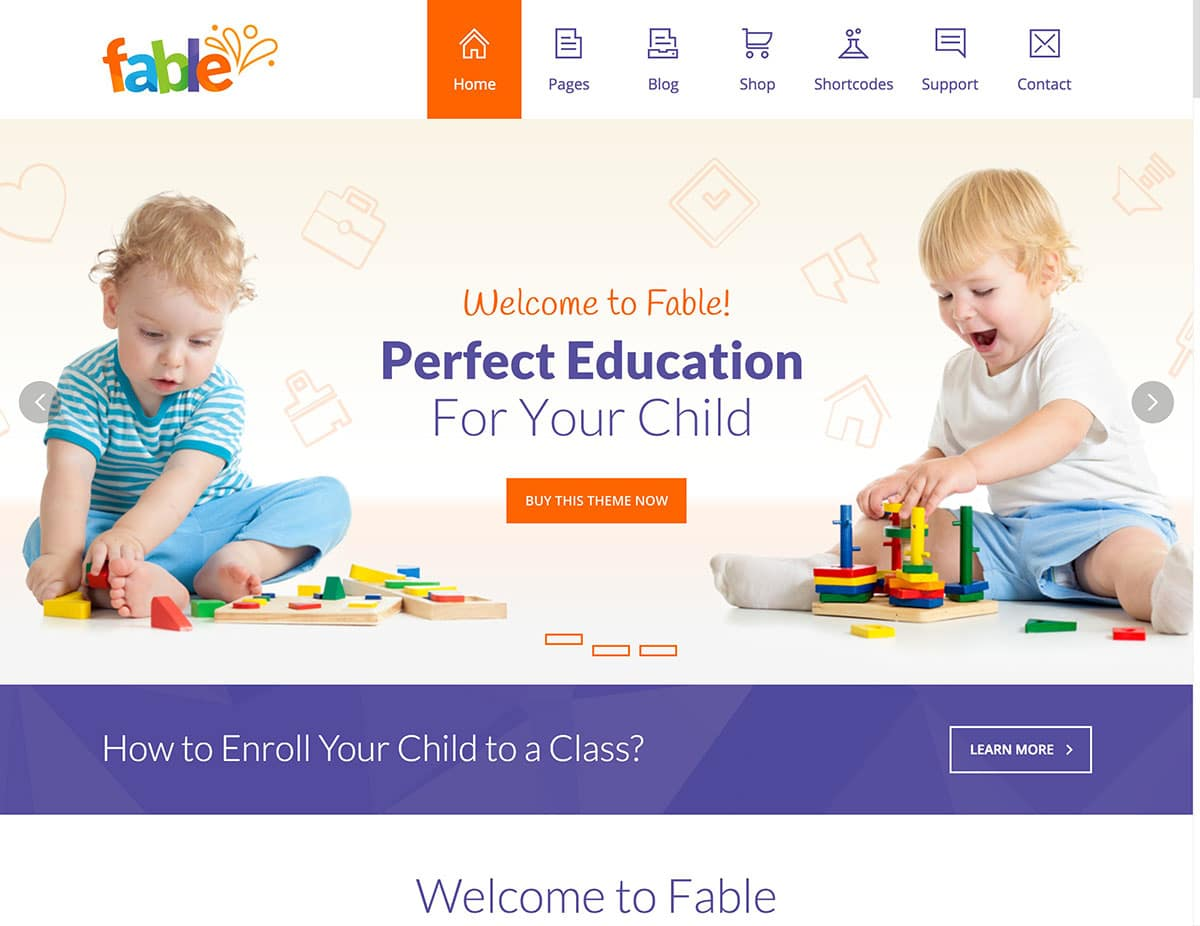 Fable-Kindergarten-WordPress-Theme