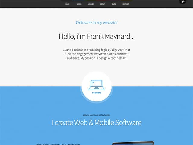 Freelancer-theme
