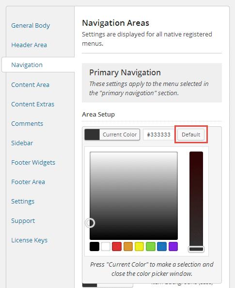 Genesis Palette Pro Default