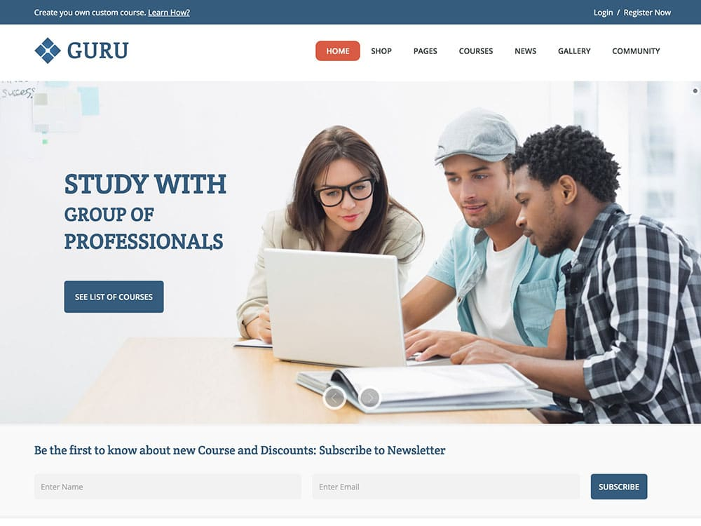 Guru-Learning-Management-System-Theme