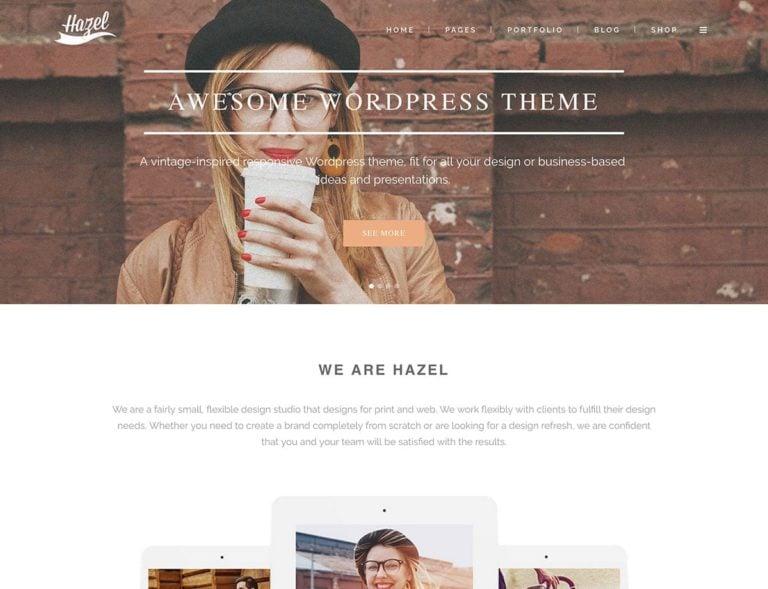 Hazel-Multi-Concept-WordPress-Theme