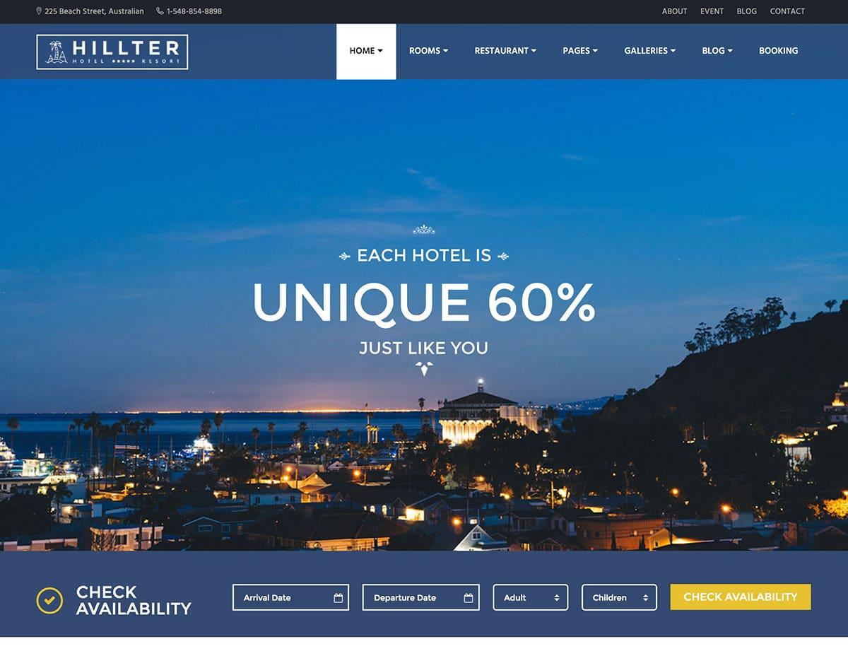 hillter-hotel-booking-theme