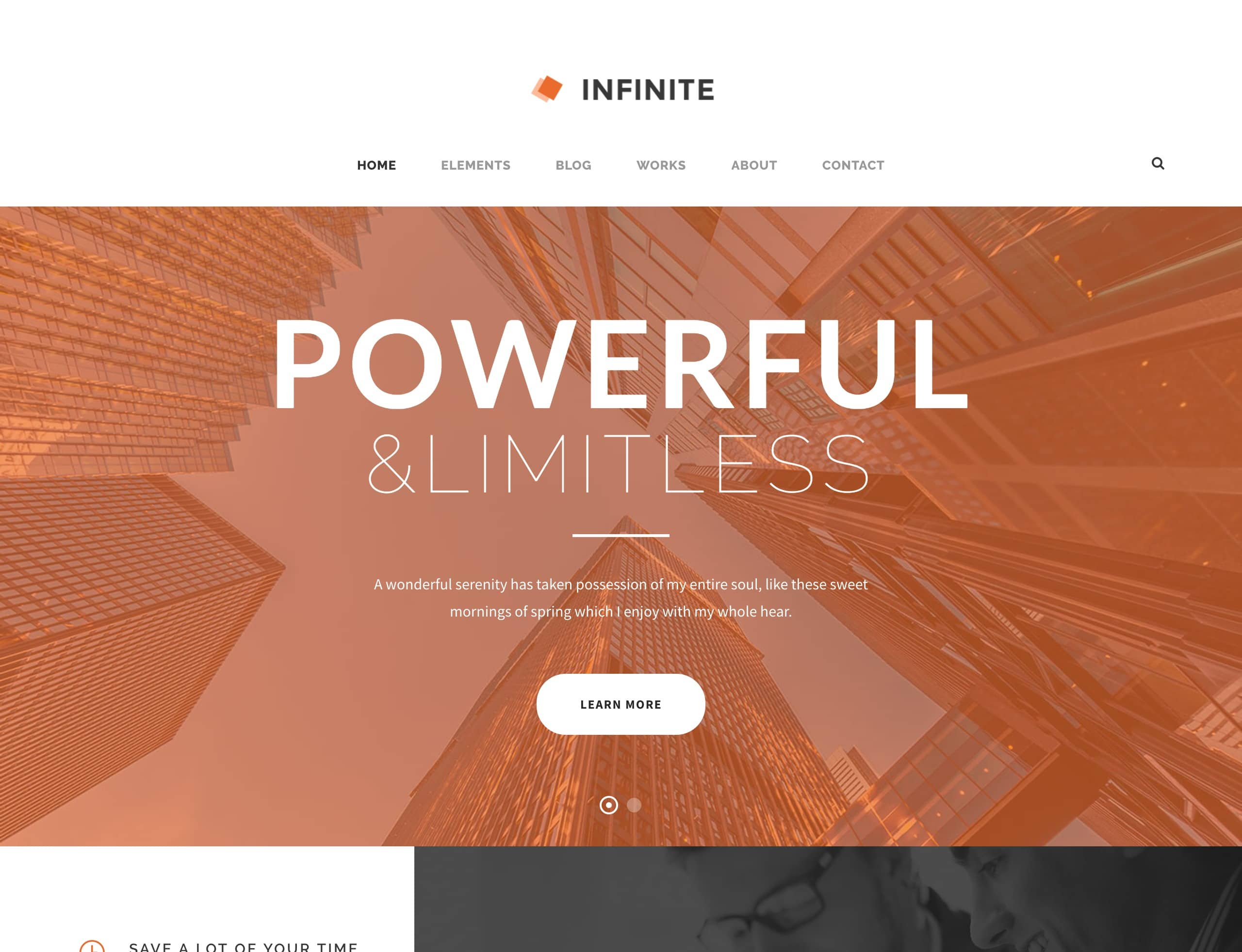 infinite-finance-wordpress-theme