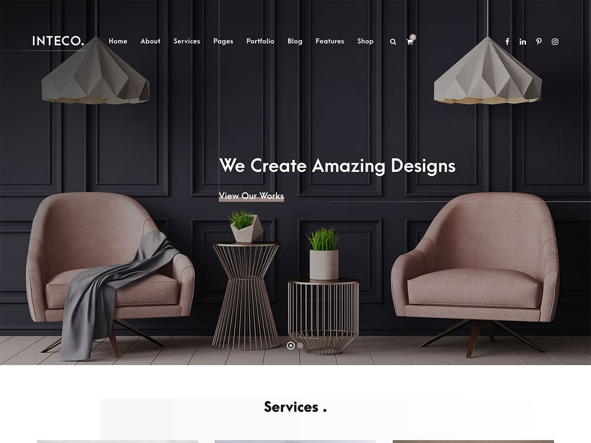 20 Best Interior Design WordPress Themes 2020 Athemes