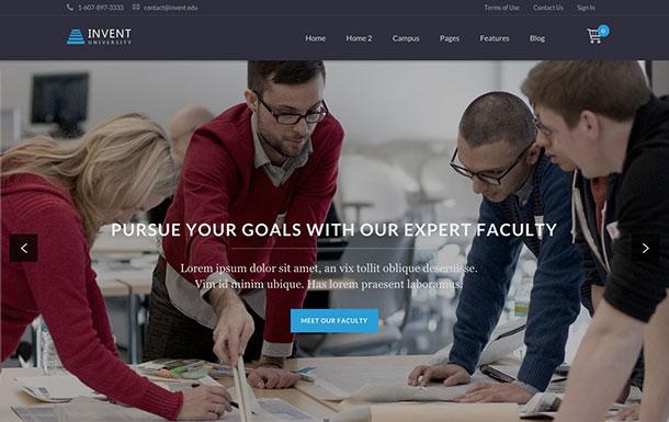 Invent-WordPress-Theme