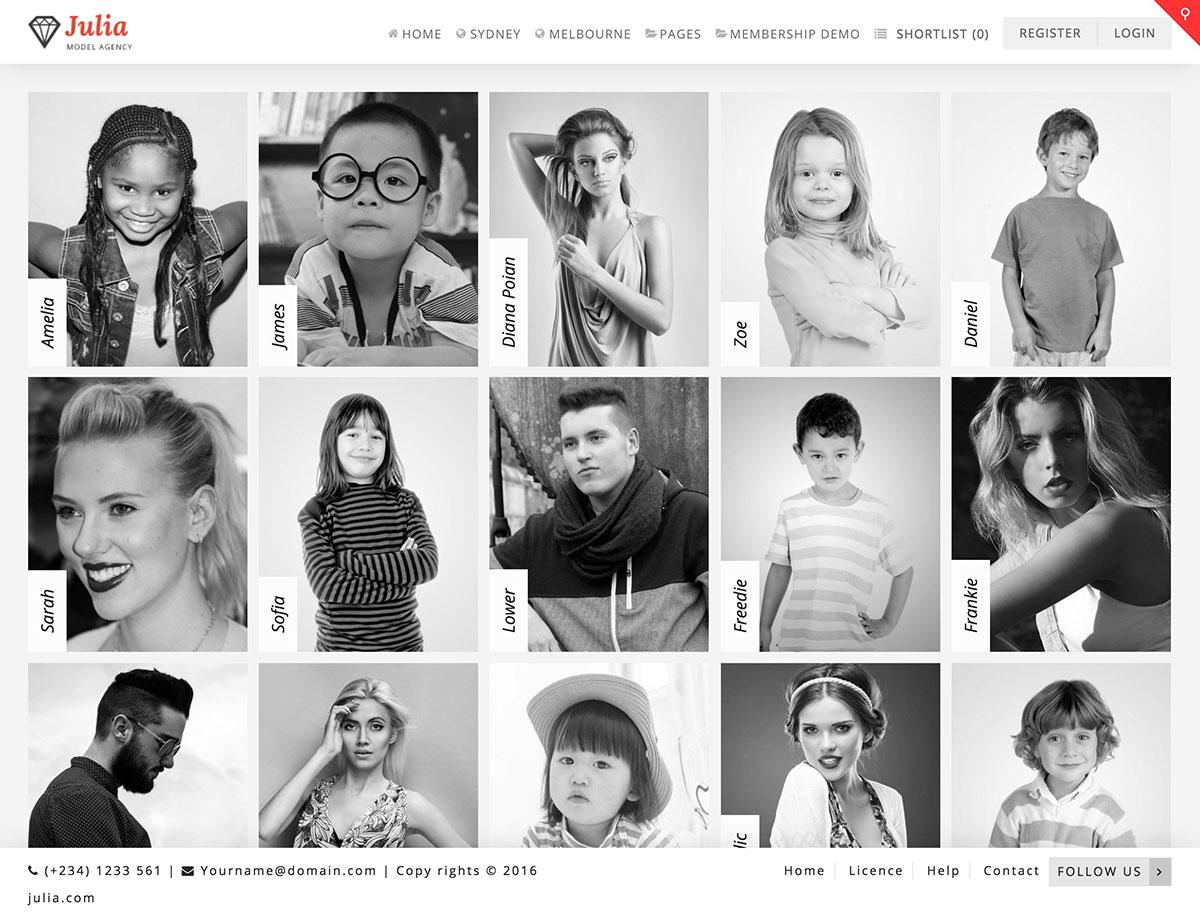 julia-model-agency-wordpress-theme