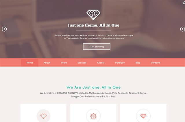 Just-One-parallax-theme