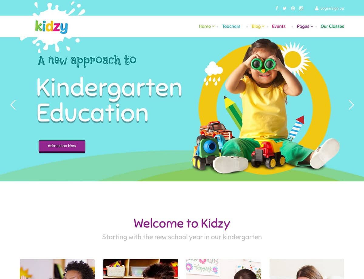 kidzy-kindergarten-preschool-wordpress-theme