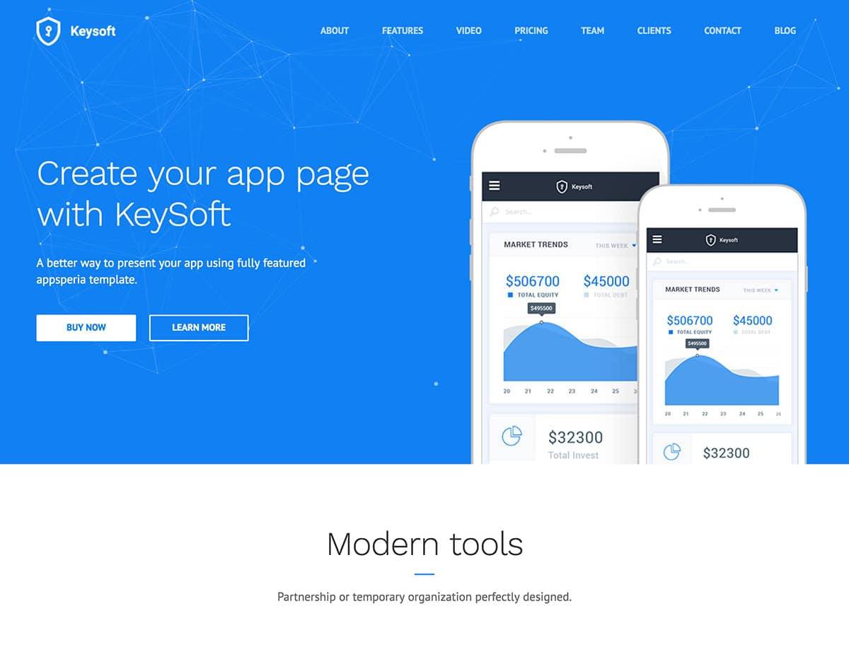 KeySoft-WordPress-Software-Landing-Page