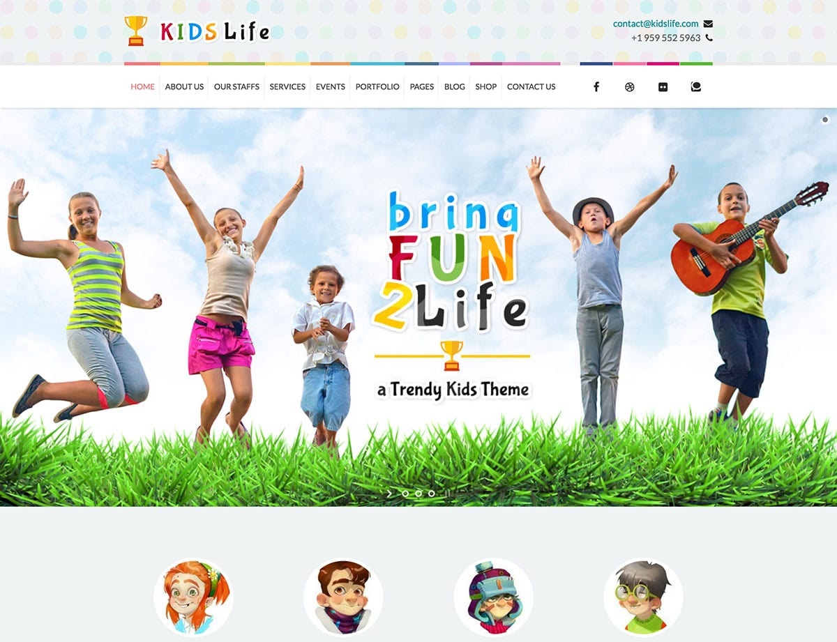 kids-life-children-wordpress-theme