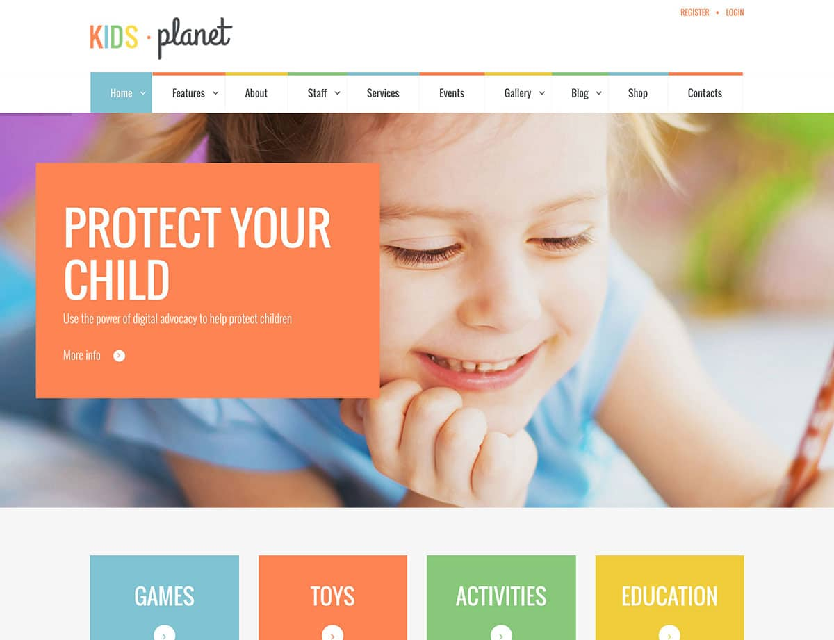 kids-planet-children-wp-theme