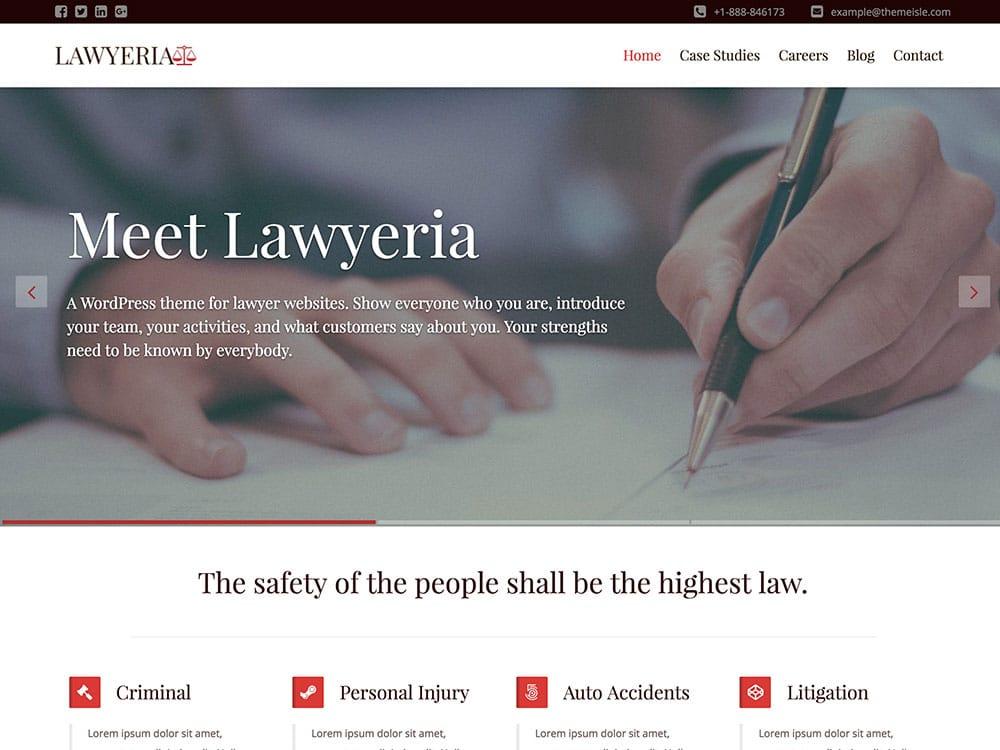 LawyeriaX-theme
