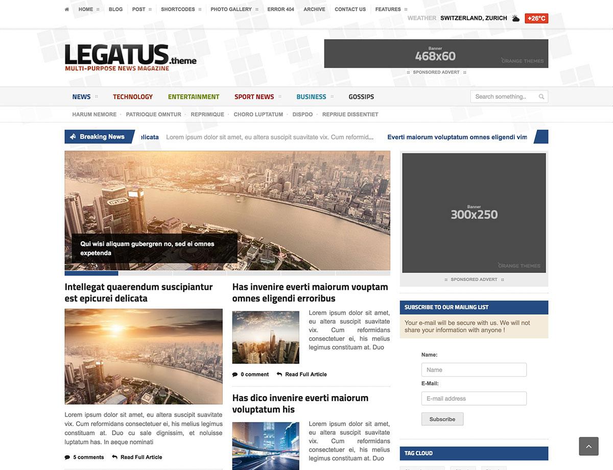 Legatus-News-Theme