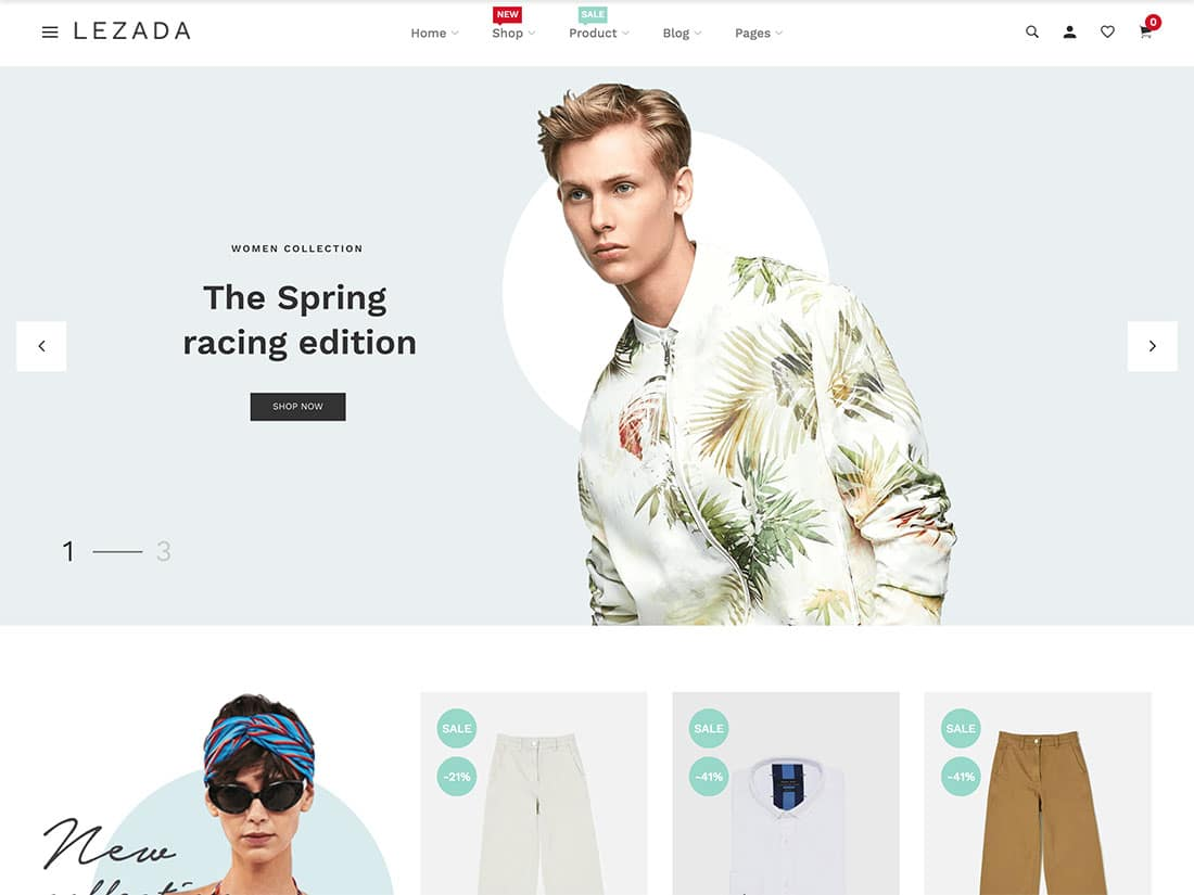 Theme Shopify Lezada
