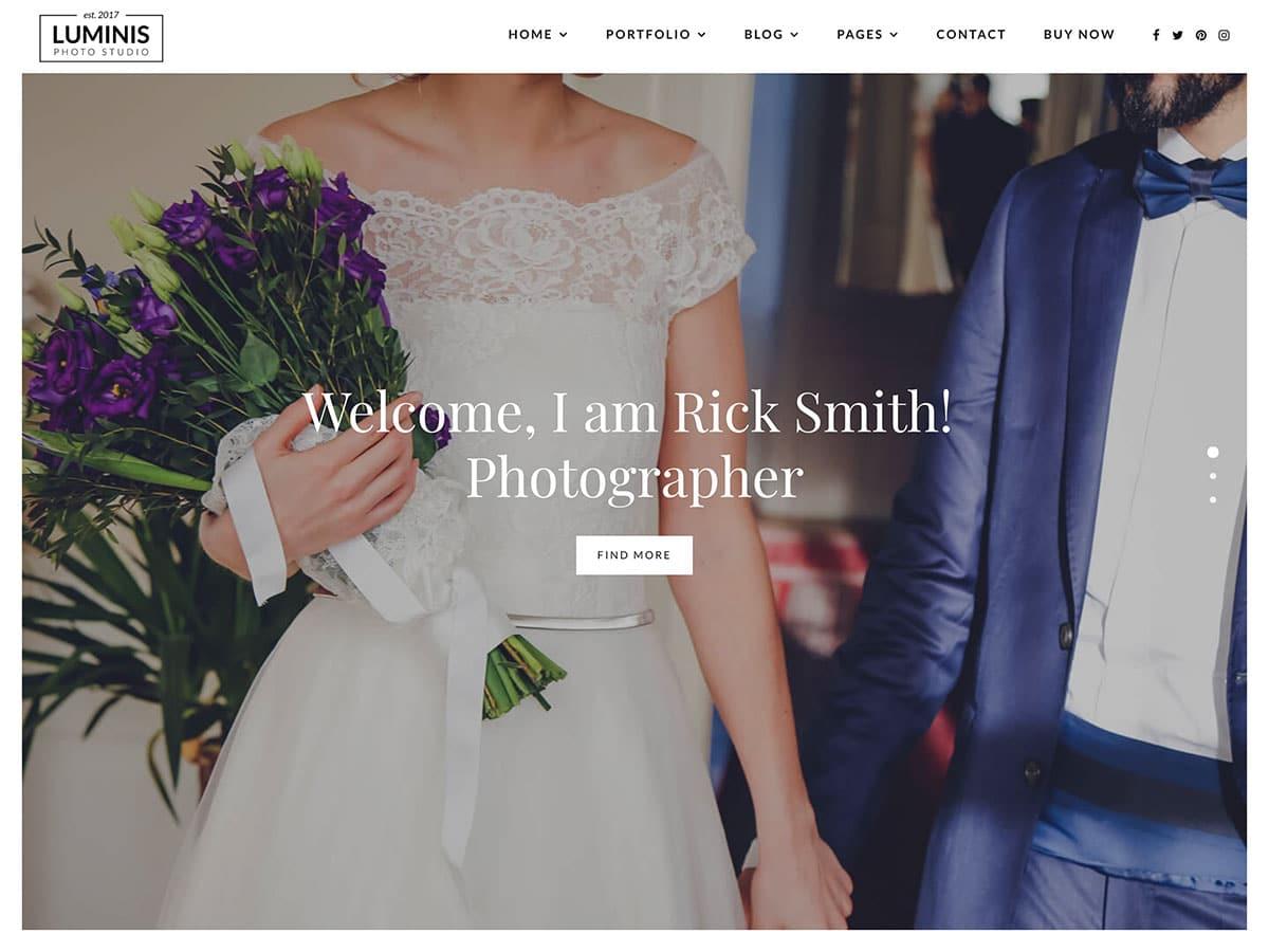 10 Best Wedding Photography Wordpress Themes 2021 Athemes