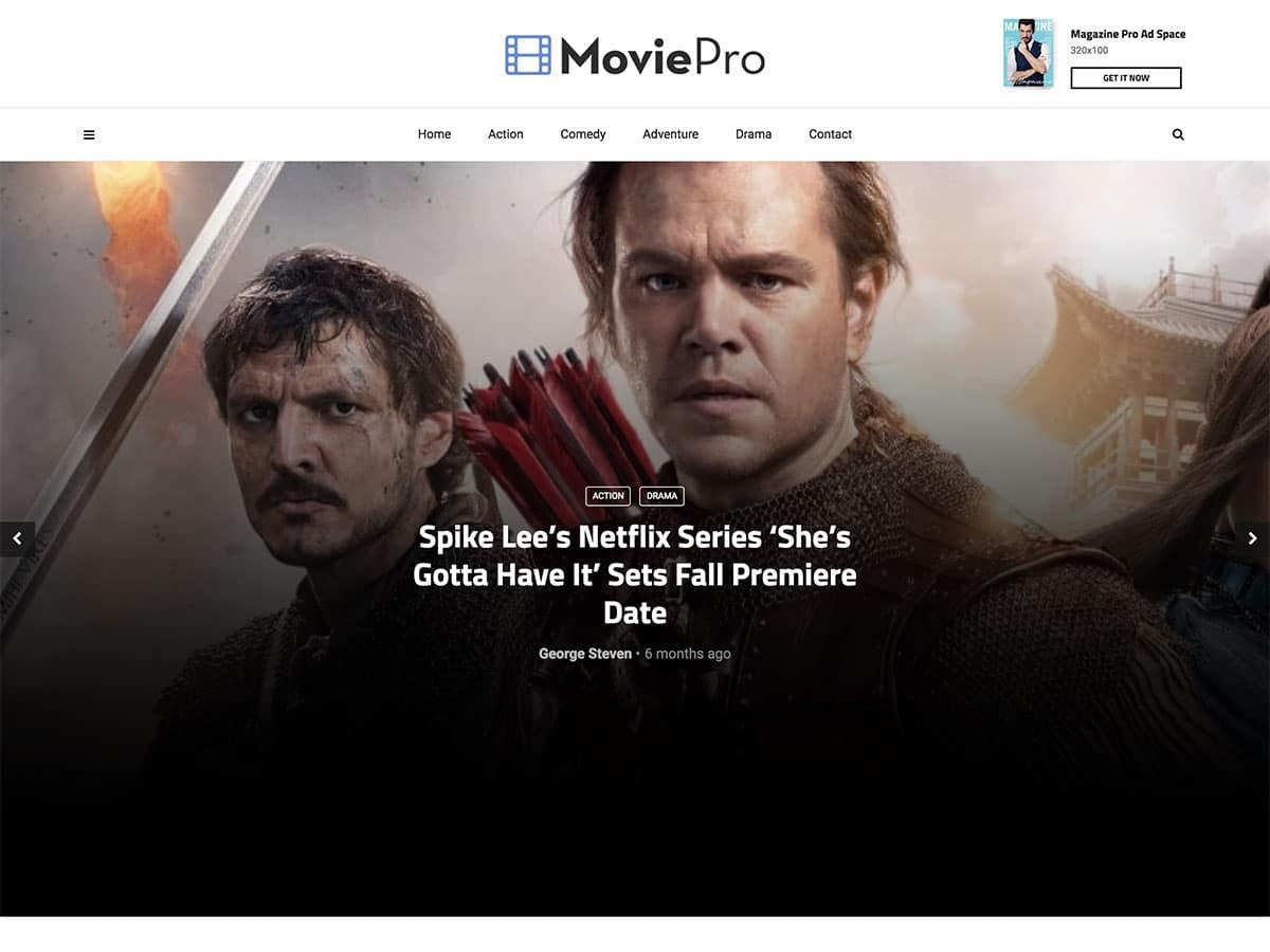 5 Best WordPress Movie Themes 2021 Athemes