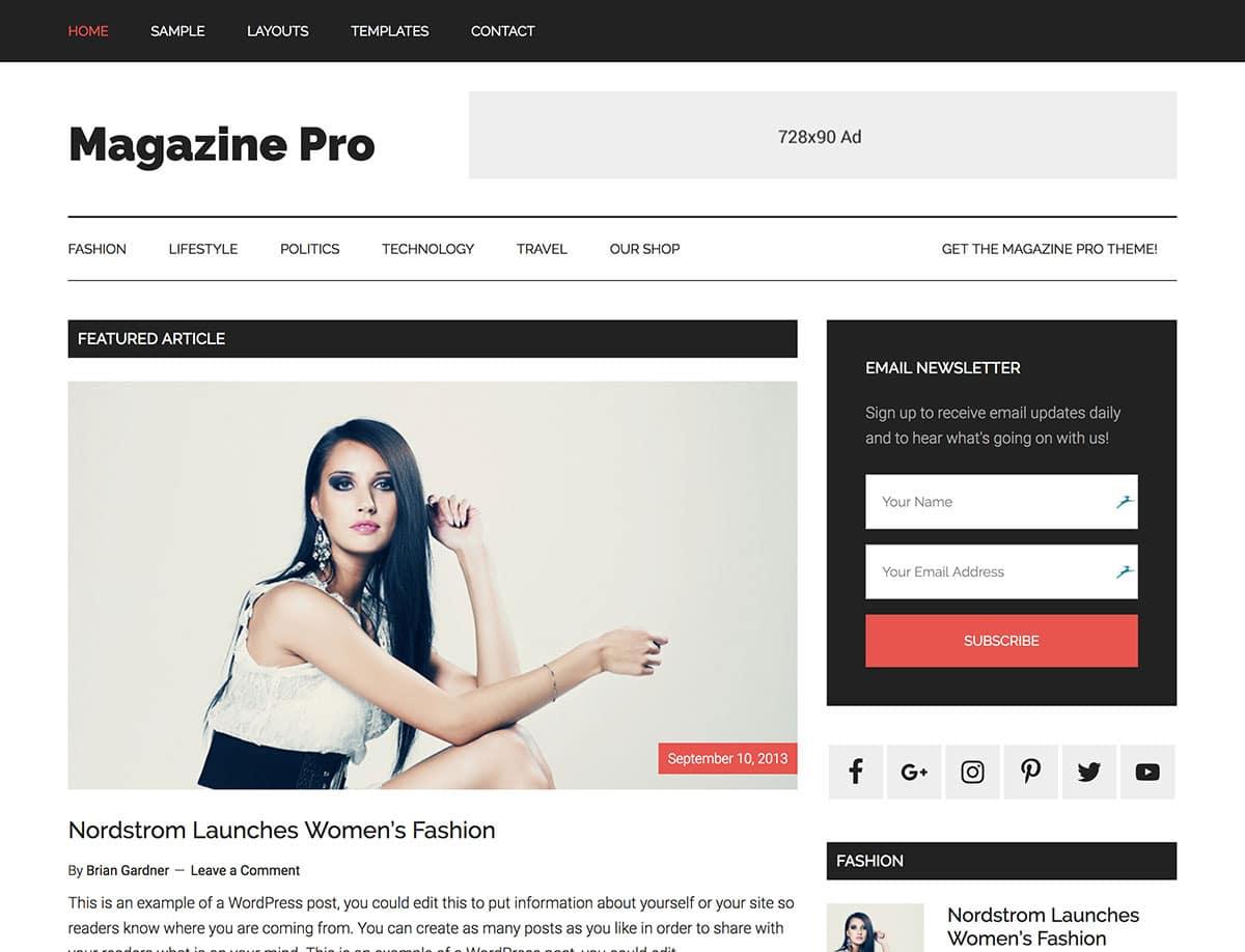 30 Best Magazine Wordpress Themes 2020 Athemes