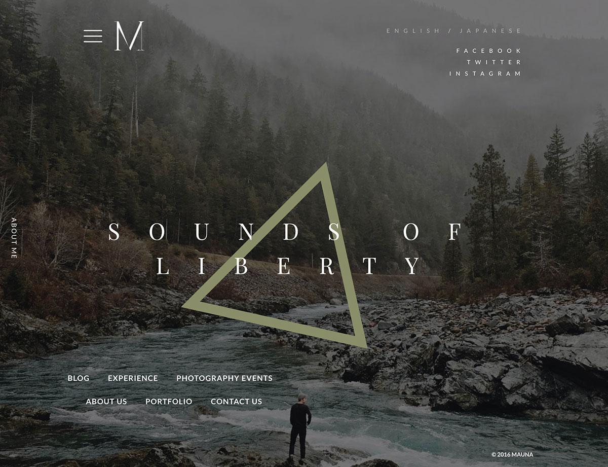 mauna-full-screen-portfolio-agency-theme